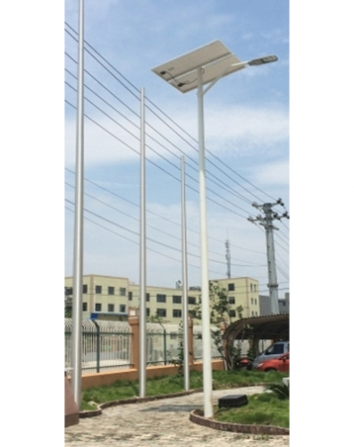 Exporting solar street lamps to Spain