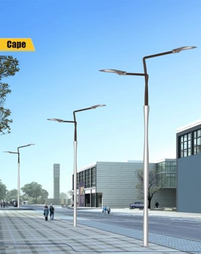 Aluminium alloy lamppost